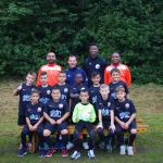 Photo officielle de l'équipe pour la Norway Cup